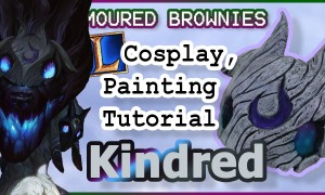 Kindred Mask Painting, Wolf! – League of Legends Cosplay Tutorial
