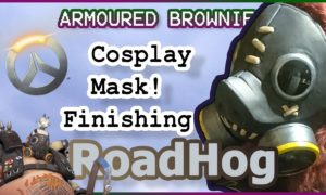 Finished Roadhog Mask – Overwatch Cosplay Tutorial